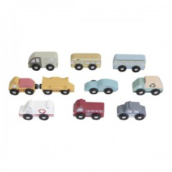 Little Dutch Zestaw 9 pojazdów