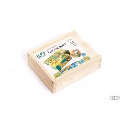 Drewniane Puzzle - Krajobrazy