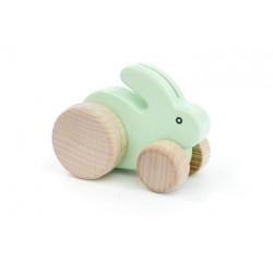 Drewniany króliczek na...