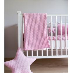 Muzpony Malmo Pink - kocyk...