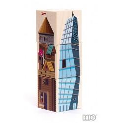 Drewniane Puzzle - Cztery...