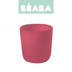 Beaba Silikonowy kubek pink
