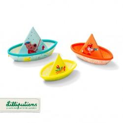 LILLIPUTIENS 3 łódeczki do...